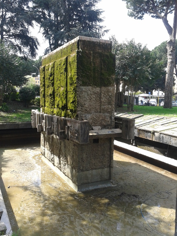 ACEA Fontana, Piazzale Ostiense Prima e dopo pulizia